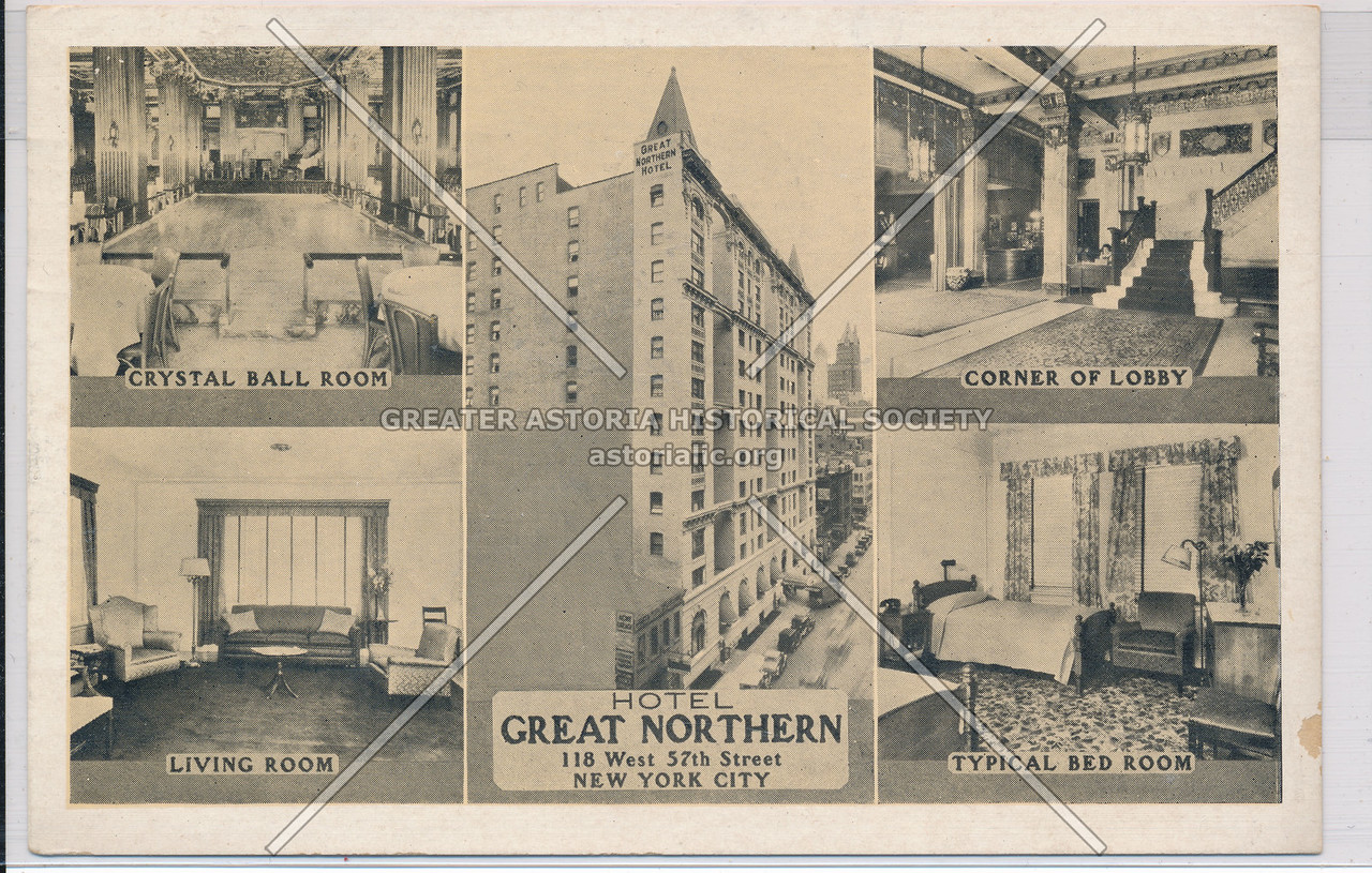 Hotel Great Northern, 118 West 57th Street, New York City