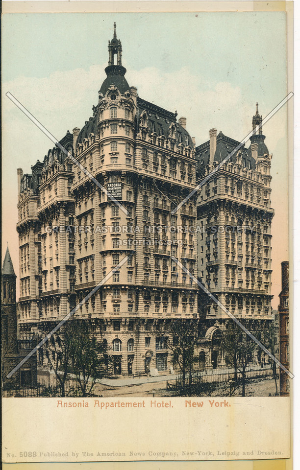 Ansonia Apartment Hotel, New York