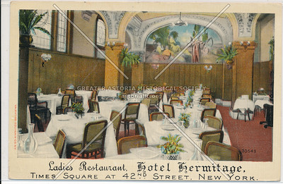 Ladies Restaurant, Hotel Hermitage, New York City