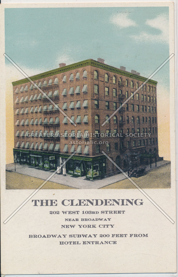 The Clendening, 202 West 103rd Street, Near Broadway, New York City