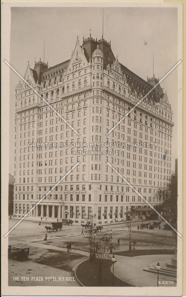 The New Plaza Hotel, N.Y. City