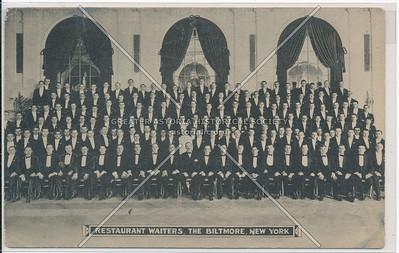 Restaurant Waiters, The Biltmore, New York City