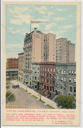 Hotel Hargrave, 112 West 72nd St., New York