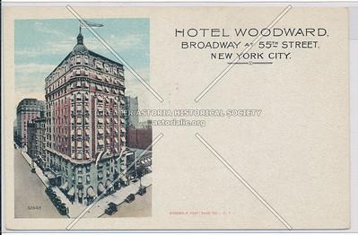 Hotel Woodward, Broadway at 55th Street, NYC