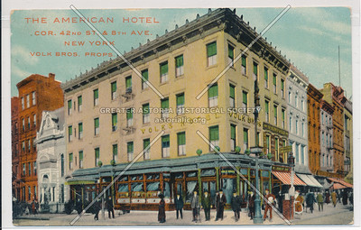 The American Hotel, NYC
