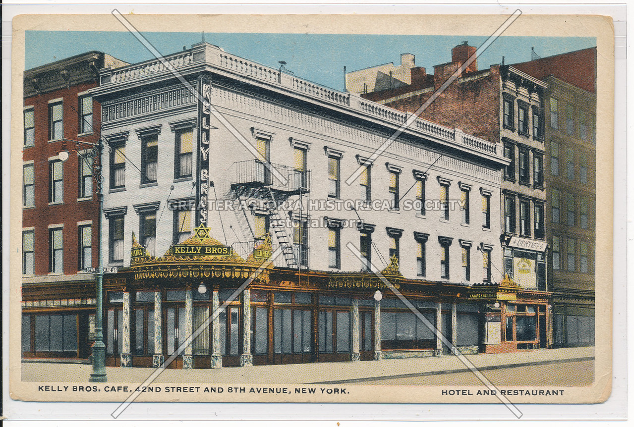 Kelly Bros. Cafe, 42nd St and 8th Ave., New York City