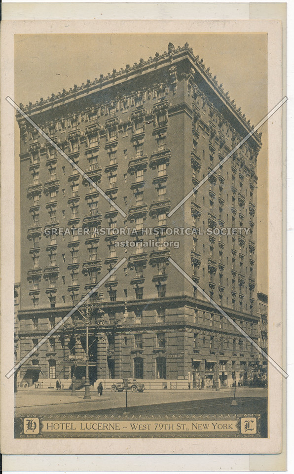 Hotel Lucerne, West 70th St., New York