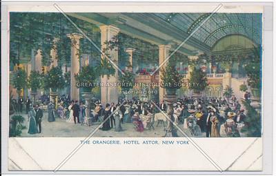 The Orangerie, Hotel Astor, New York City