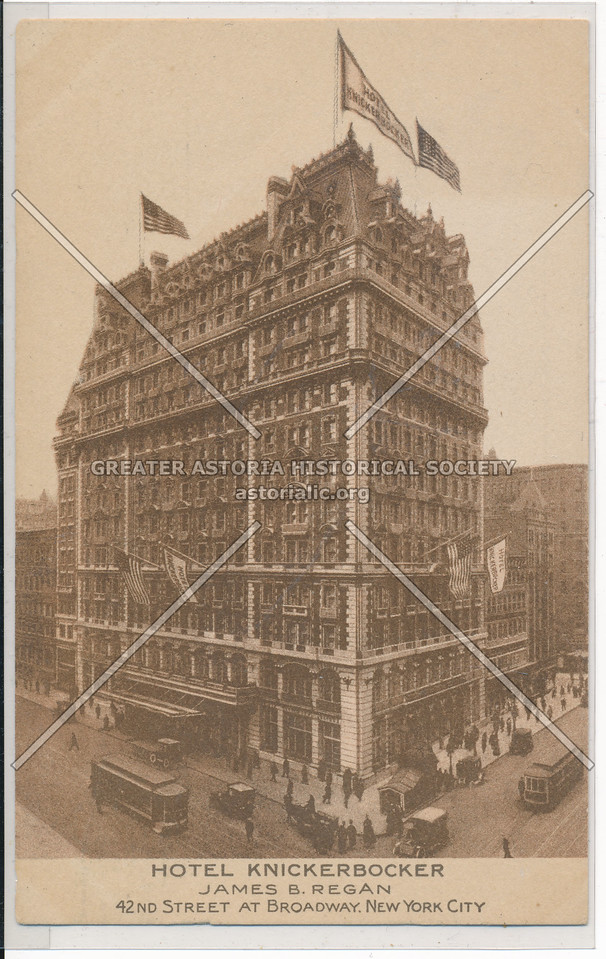 Hotel Knickerbocker, NYC