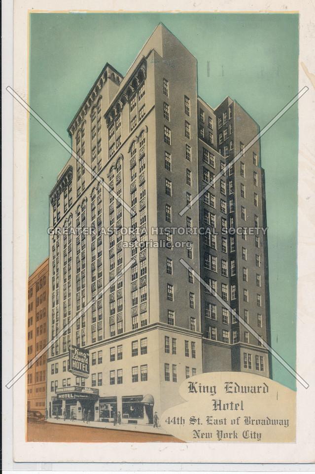 King Edward Hotel, 44th St. E of Broadway, NYC
