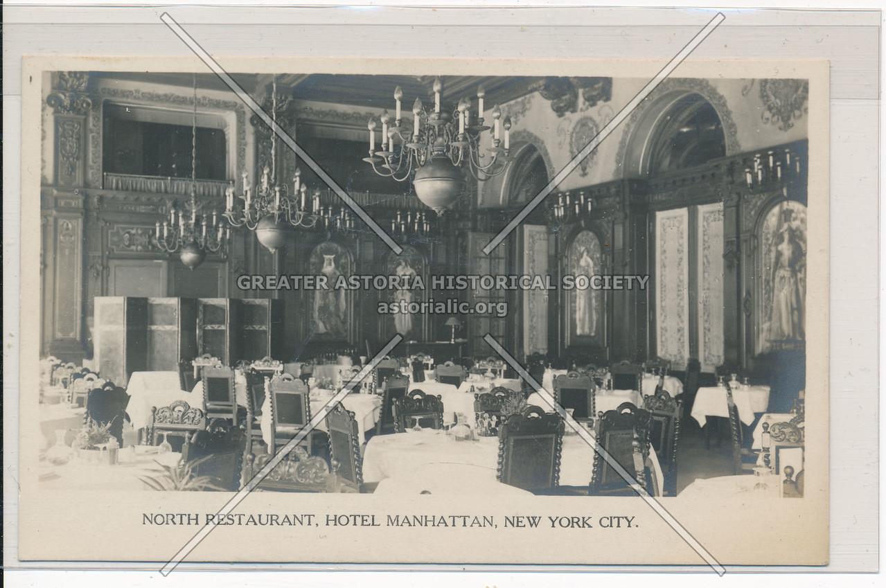 North Restaurant, Hotel Manhattan, New York City