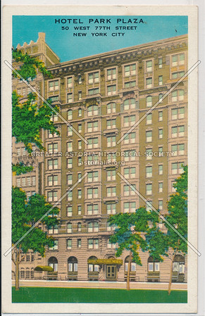 Hotel Park Plaza, 50 West 77th Street, New York