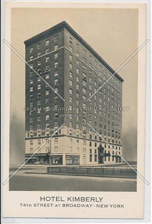 Hotel Kimberly, 74th Street At Broadway, New York