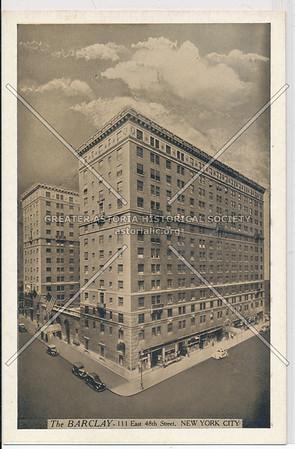 The Barclay, 111 E 48 St, NYC