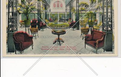 Public Lounge, Hotel Endicott, Manhattan Sq., New York City