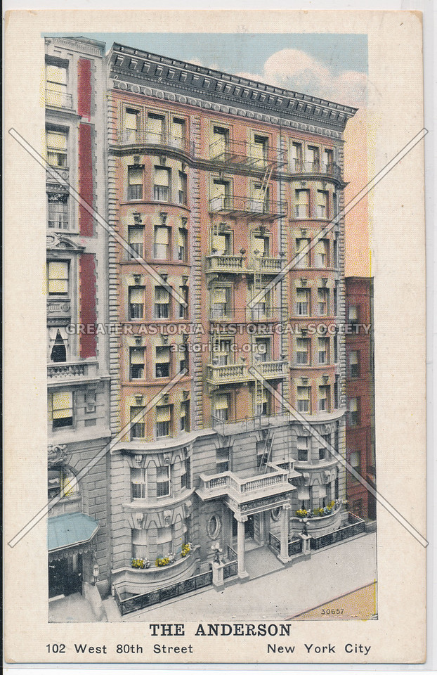 The Anderson, 102 West 80th Street, New York City