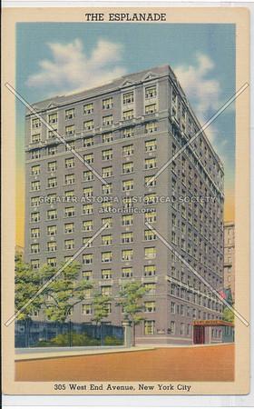 The Esplanade, 305 West End Avenue, New York City