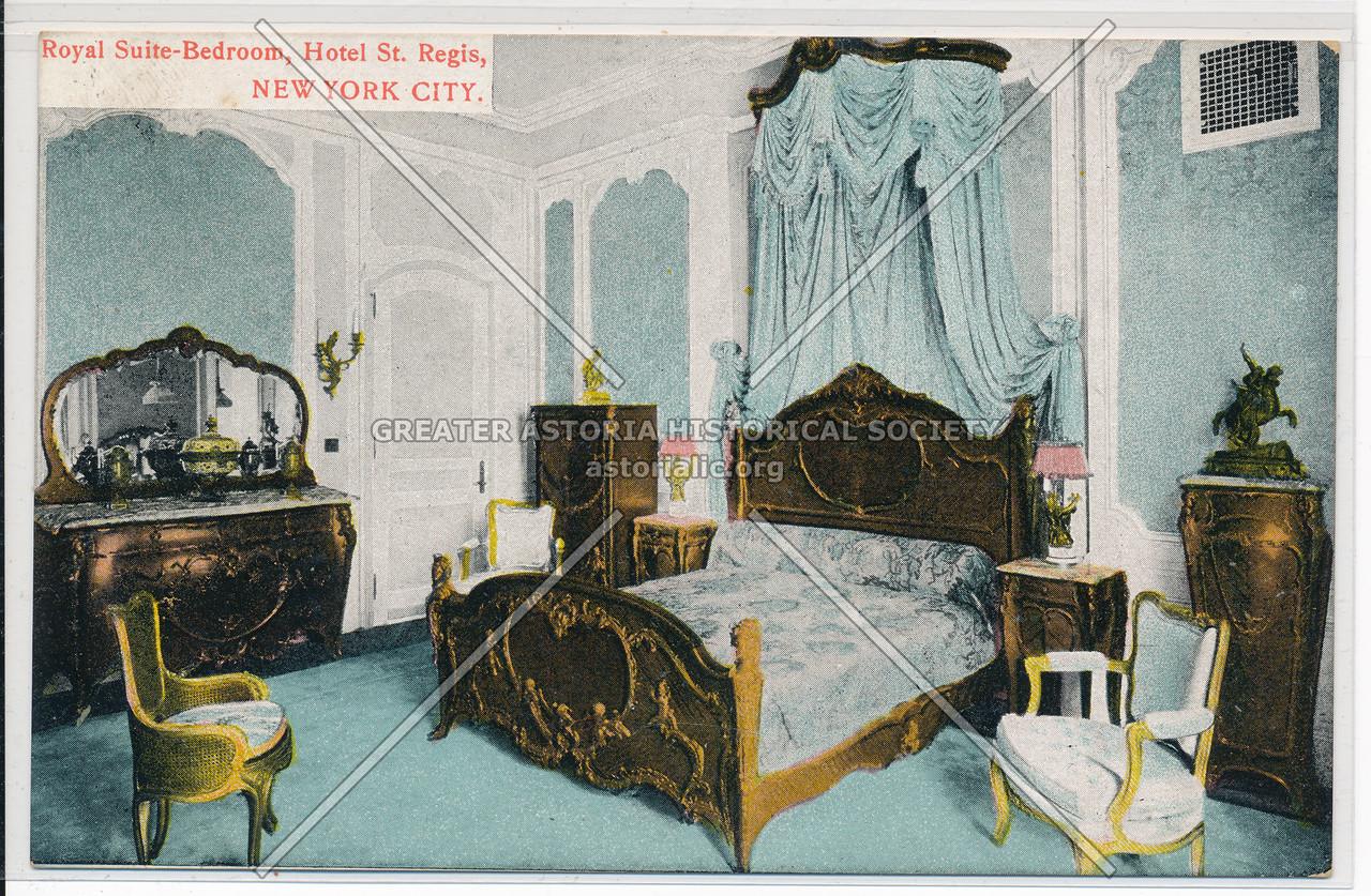 Royal Suite-Bedroom, Hotel St. Regis, New York City