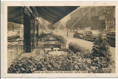 Cafe Al Fresco- Hotel Empire- New York