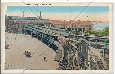 South Ferry Elevated Lines, NYC