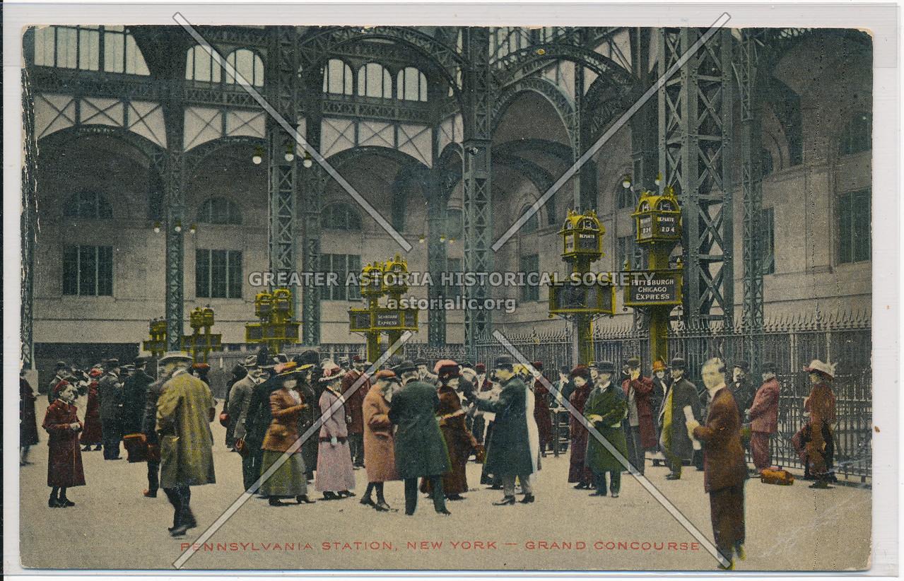 Grand Concourse, Pennsylvania Station, NYC
