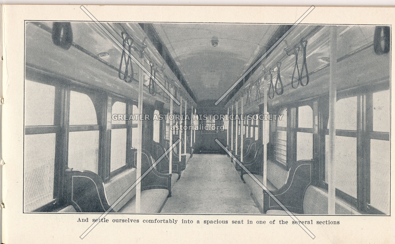 McAdoo System Train Interior