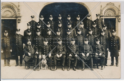 Group Photo of Officers, NYC Fire Brigade