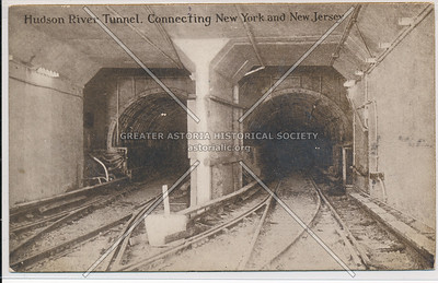 Hudson River Tunnel, Connecting New York and New Jersey