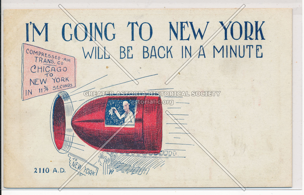 Compressed-Air Transportation Concept to New York