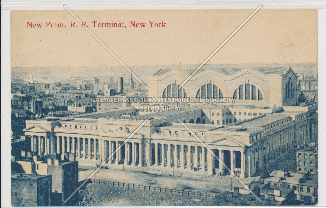 New Pennsylvania Railroad Terminal, New York City
