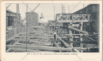 McAdoo System Construction of Hoboken Terminal