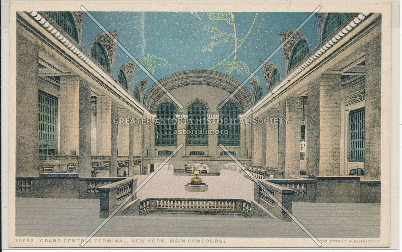 Main Concourse, Grand Central Terminal, NYC