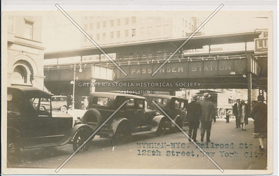 Railroad Passenger Station, 125th Street, NYC