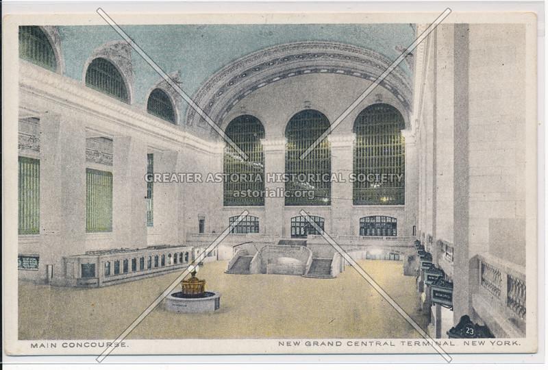 Main Concourse, Grand Central Terminal, NYC