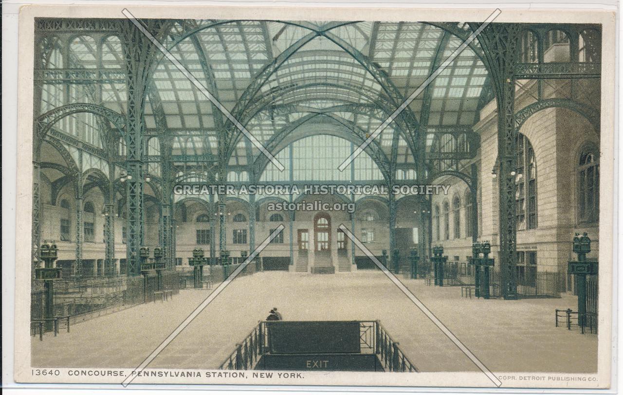 Pennsylvania Station Concourse, New York City