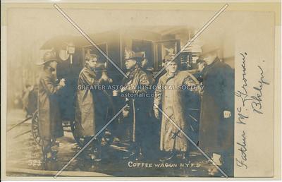 Coffee Wagon, New York City Fire Brigade
