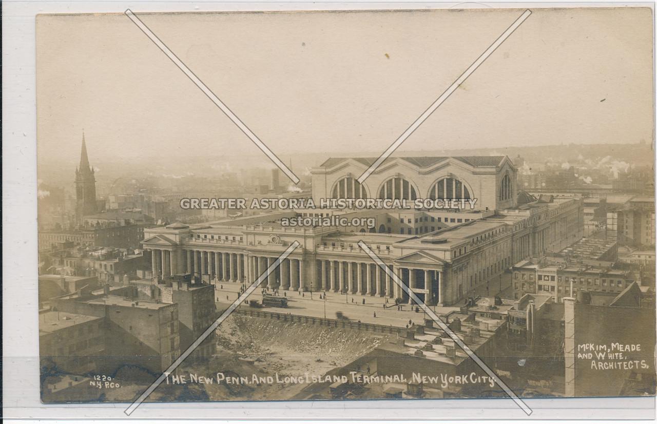 The New Pennsylvania and Long Island Terminal, New York City
