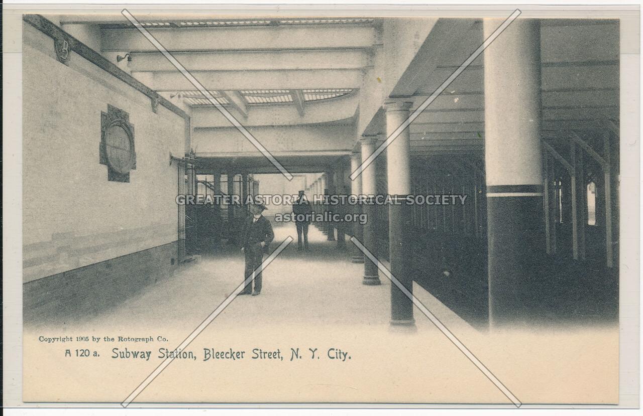 Subway Station at Bleecker Street, NYC