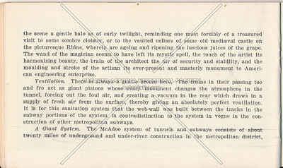 McAdoo System Pamphlet and Ventilation Information