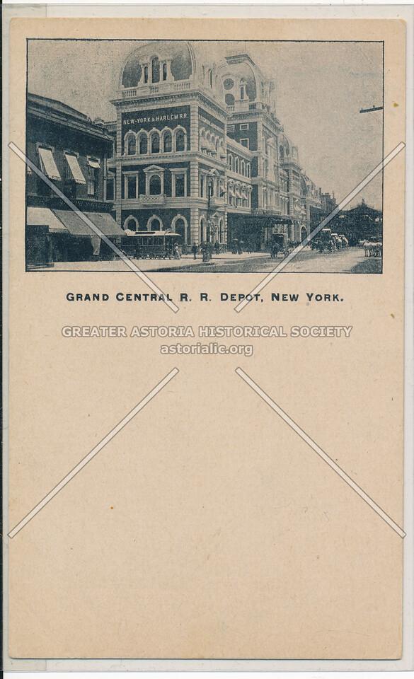 Original Grand Central Railroad Depot, New York City