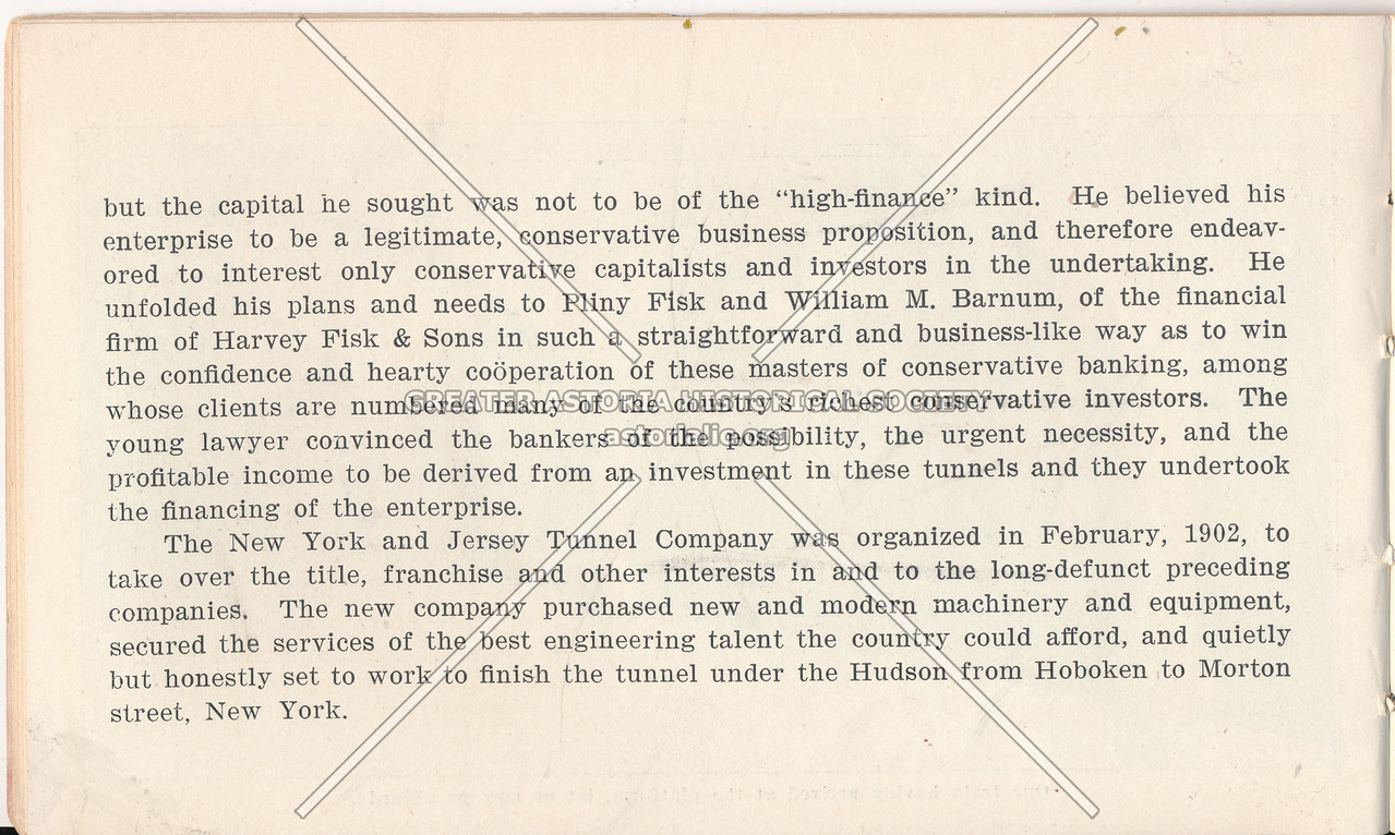 McAdoo System Pamphlet and Company Organization Story