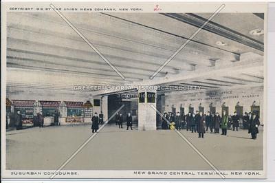 Suburban Concourse, New Grand Central Terminal, NYC