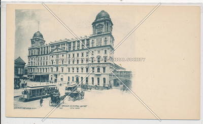 Original Grand Central Depot, New York City