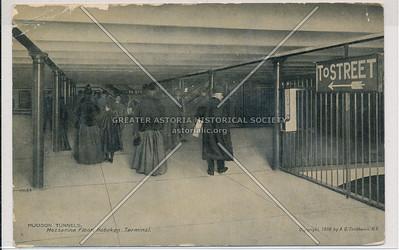 Hudson Tunnels, Mezzanine Floor, Hoboken Terminal, New Jersey