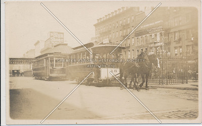 Horse-Drawn Omnibuses in New York City