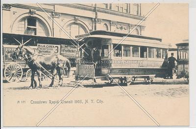 Crosstown Rapid Transit, NYC (1905)