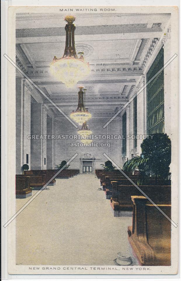 Main Waiting Room, New Grand Central Terminal, NYC