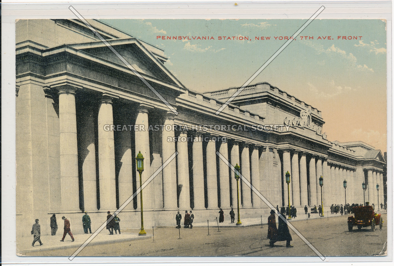 7th Avenue Front, Pennsylvania Station, NYC