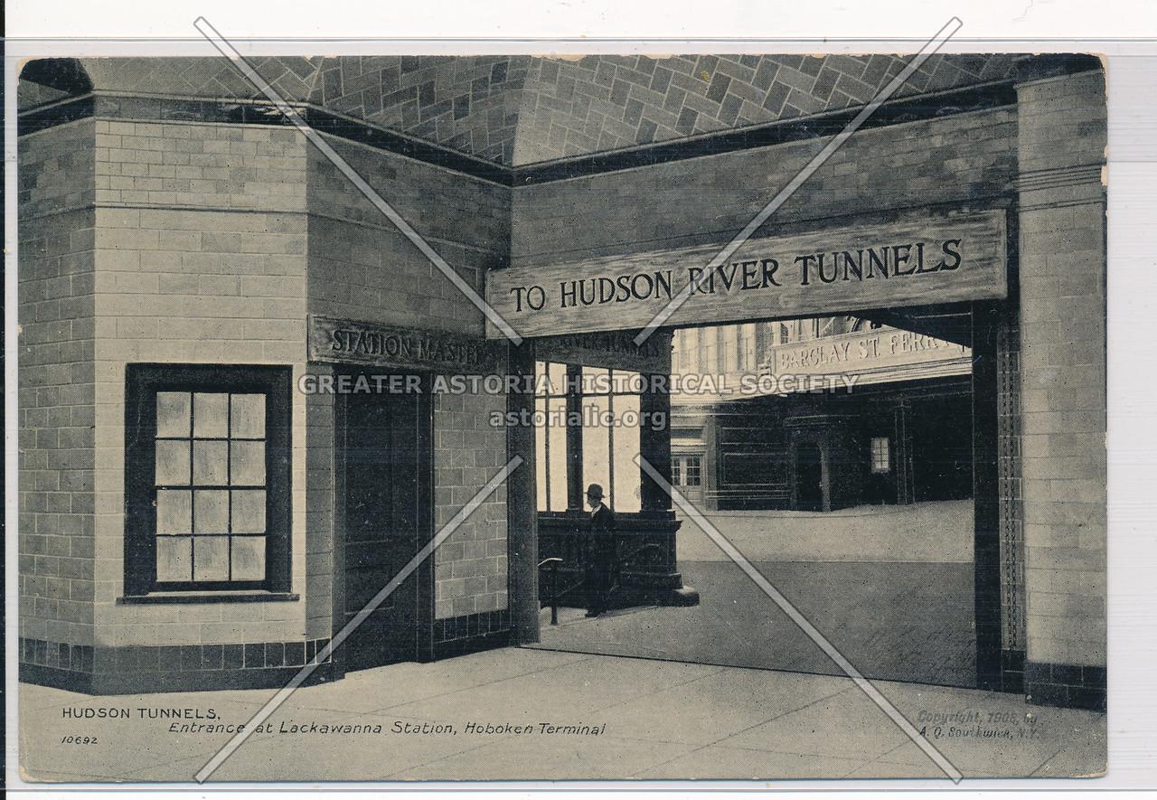 Entrance at Lackawanna Station, Hoboken Terminal, NYC