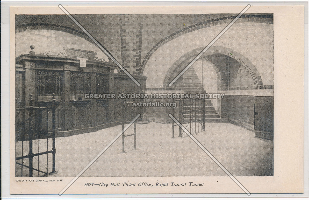 City Hall Ticket Office, Rapid Transit Tunnel, NYC